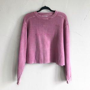 Vintage Key West, FL Pigment Dyed Crop Sweatshirt